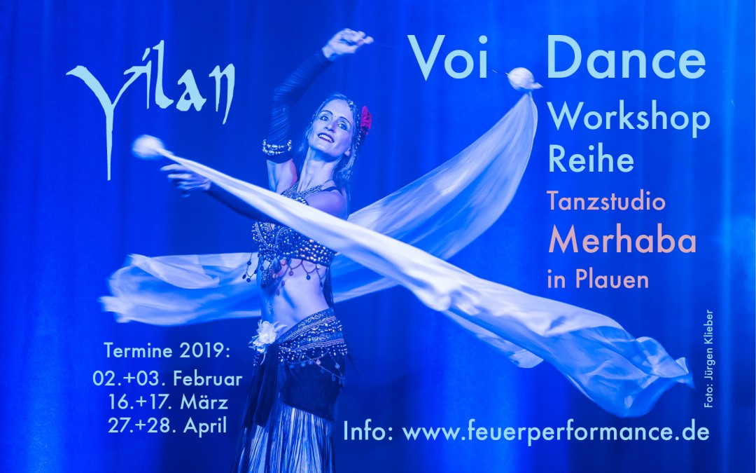 Voi-Dance Workshop Reihe 2019 in Plauen mit Yilan-Anne Devries