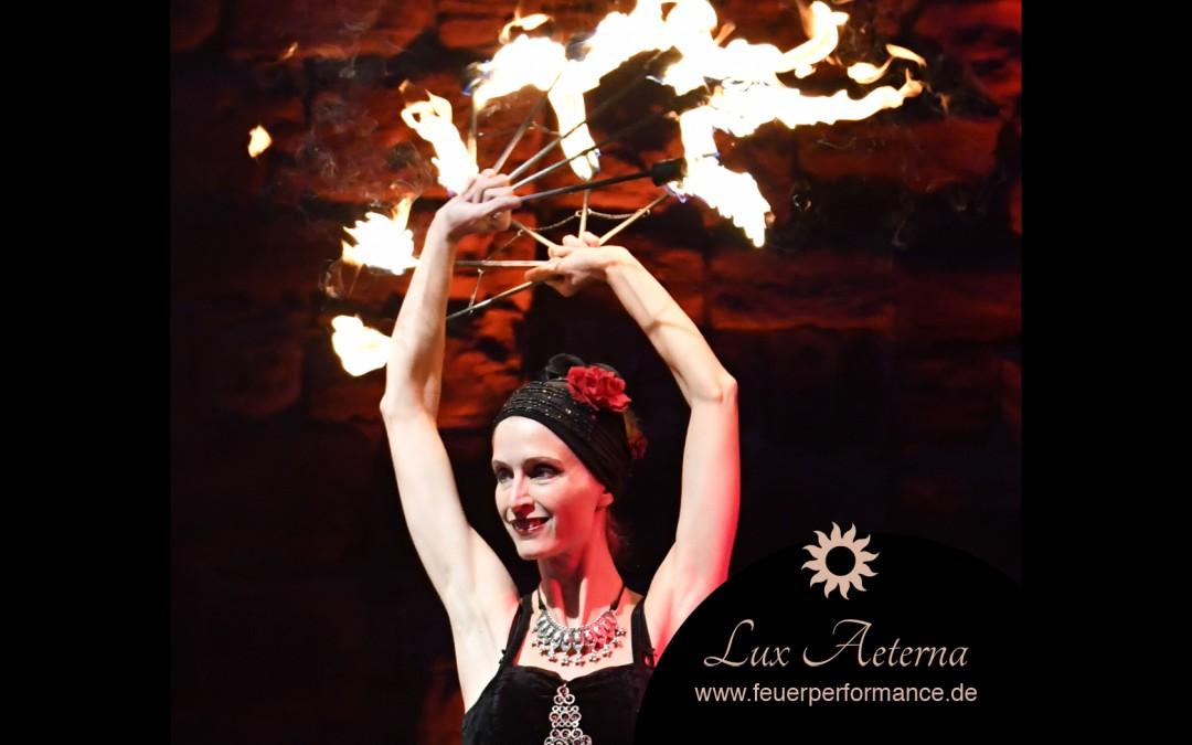 8.+9.12.18 Historischer Weihnachtsmarkt Olpe Feuershow Lux Aeterna