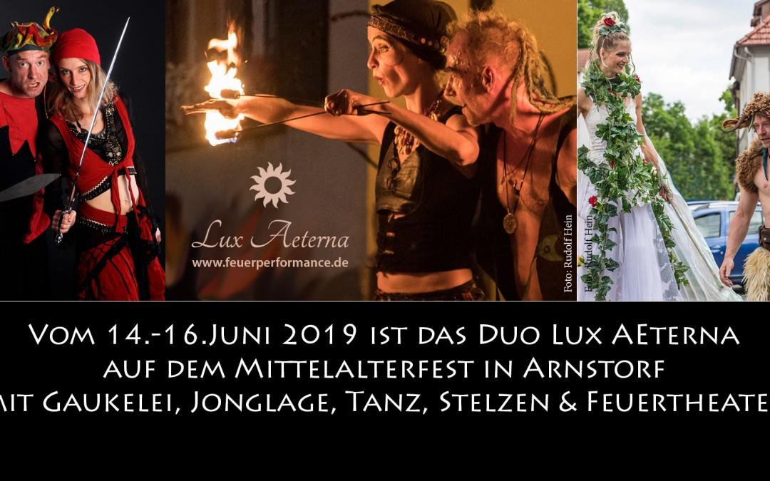 Lux Aeterna auf dem Mittelalterfest Arnstorf 2019, 14.-16.Juni