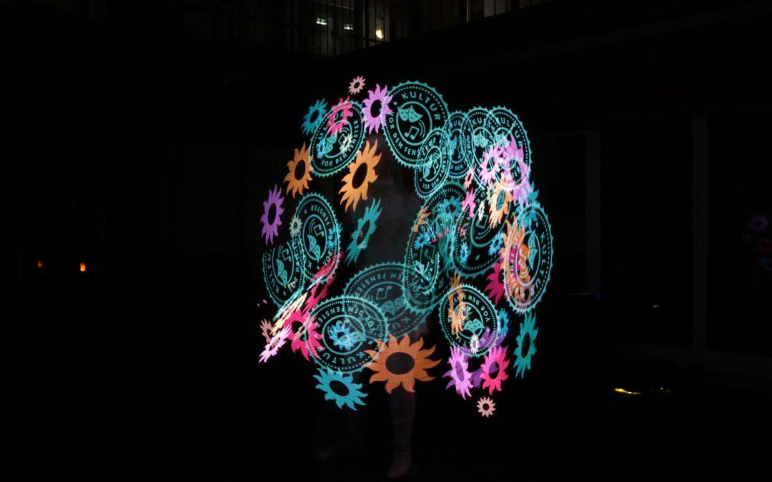 LED Licht Show feuerperformance.de